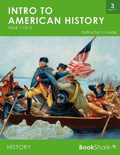 Intro to American History, Year 1 of 2 (Level 3) ages 8-11