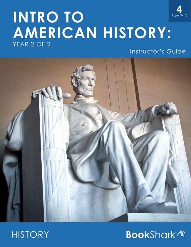 Intro to American History, Year 2 of 2 (Level 4) ages 9-12