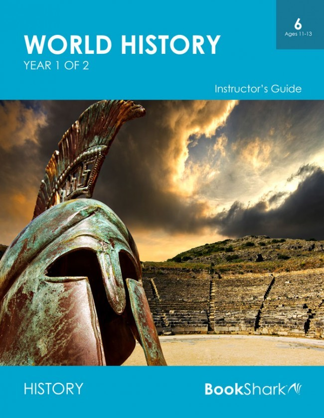 World History, Year 1 of 2 (Level 6) ages 11-13