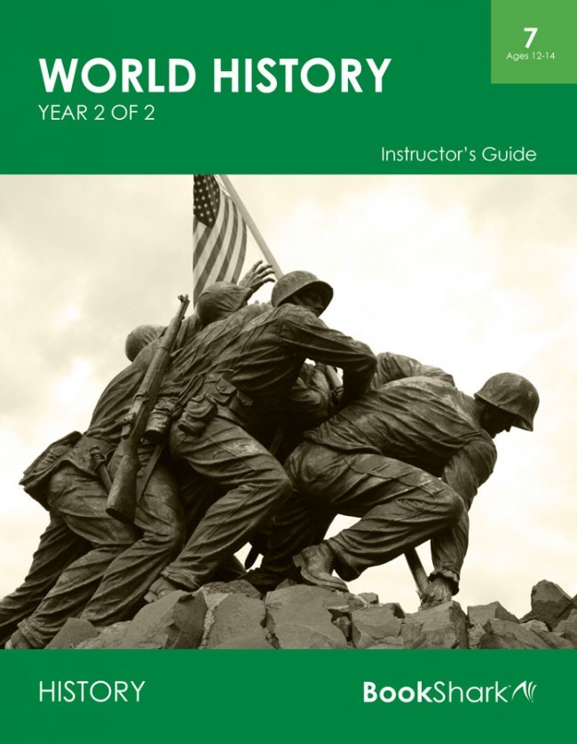 World History, Year 2 of 2 (Level 7) ages 12-14