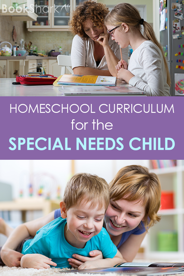 BookShark is a flexible curriculum that works well for special needs children.
