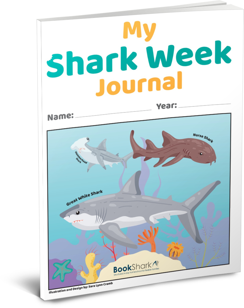 Shark Week Journal cover