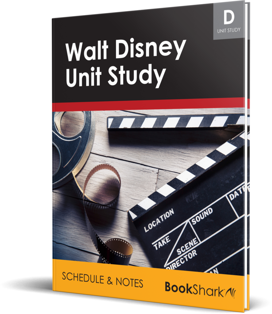 Walt Disney unit study free from BookShark