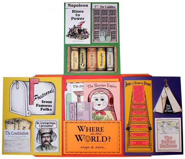 World History II - Lap Book Kit