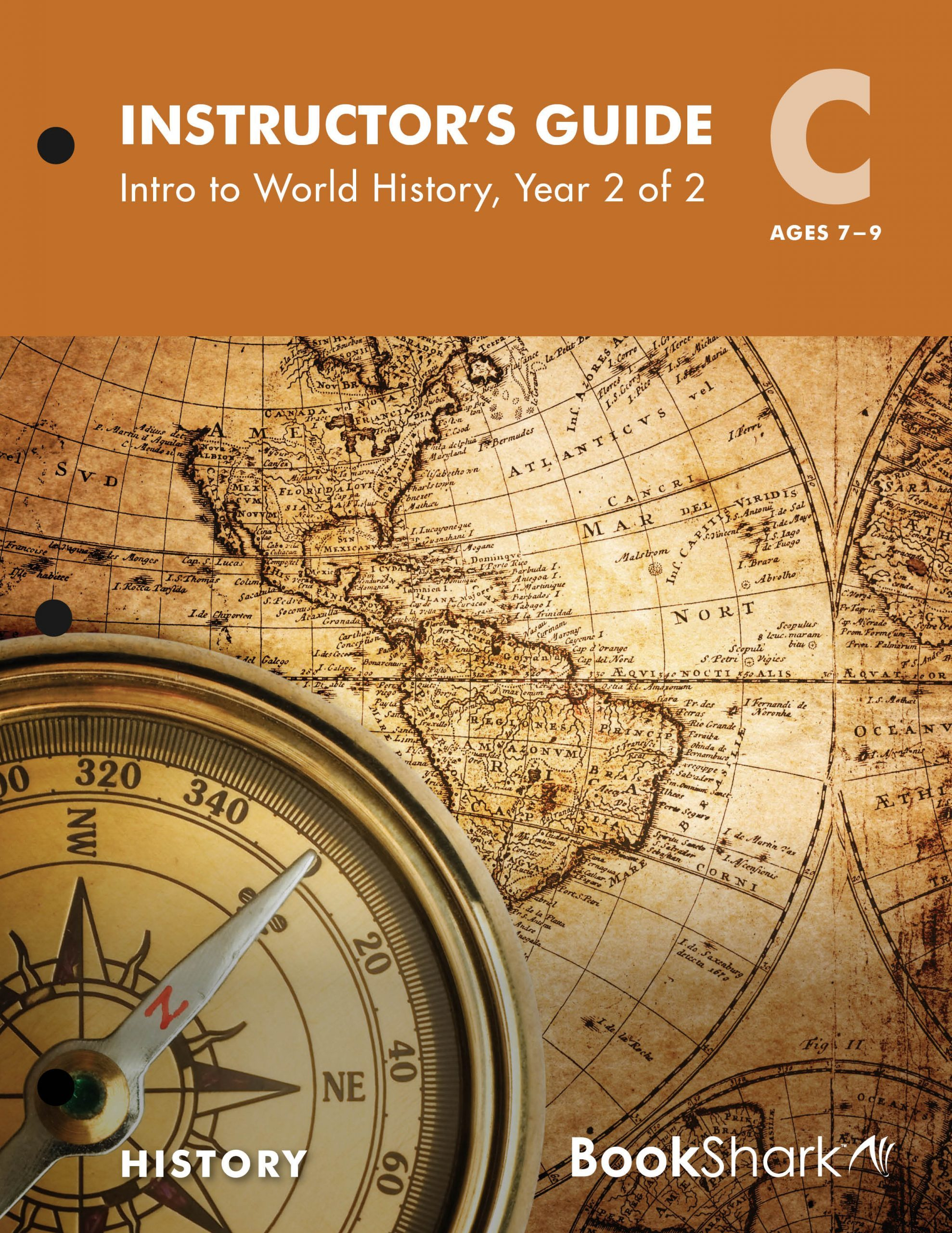 BookShark Reading with History Level C Intro to World History, Year 2 of 2