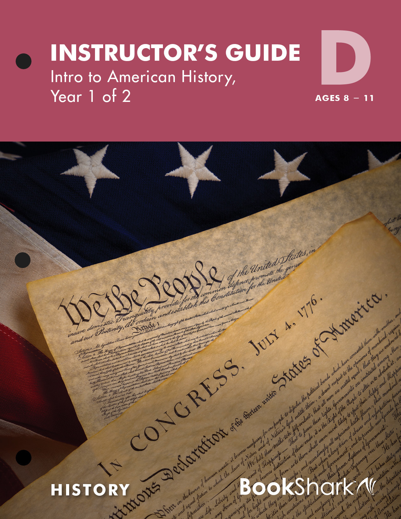 BookShark Reading with History Level D Intro to American History, Year 1 of 2