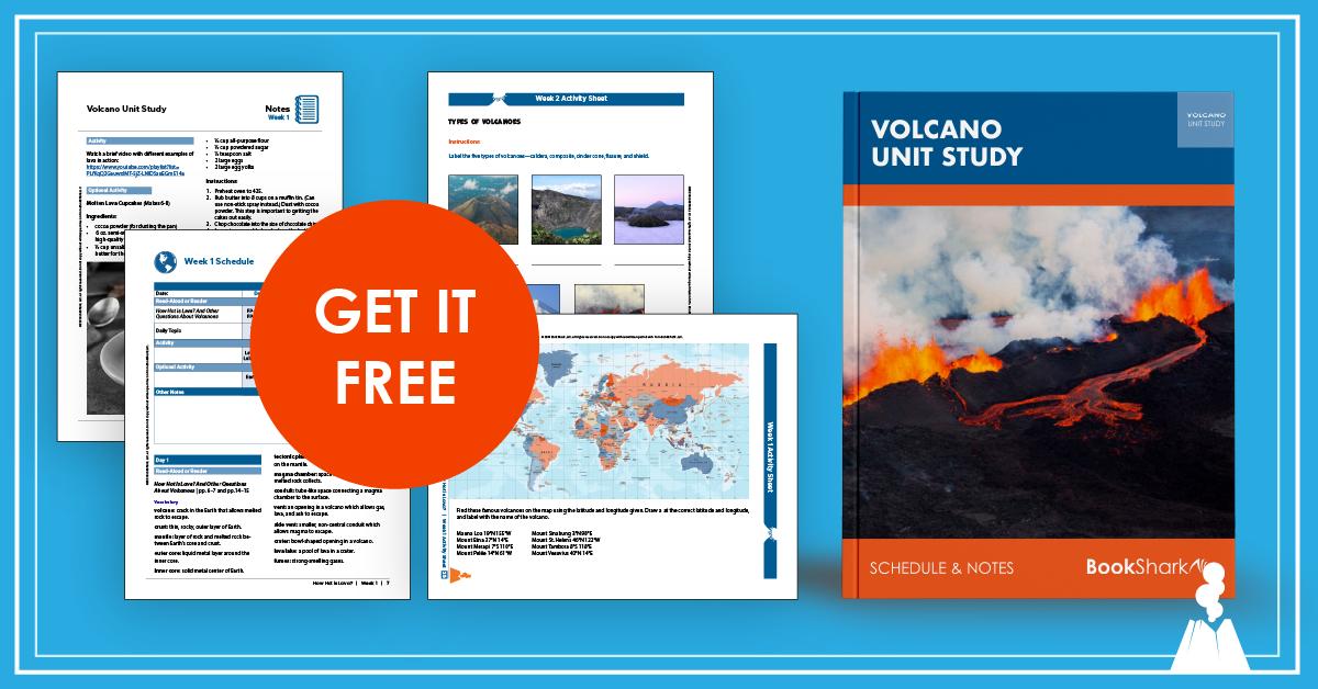 Volcano Unit Study