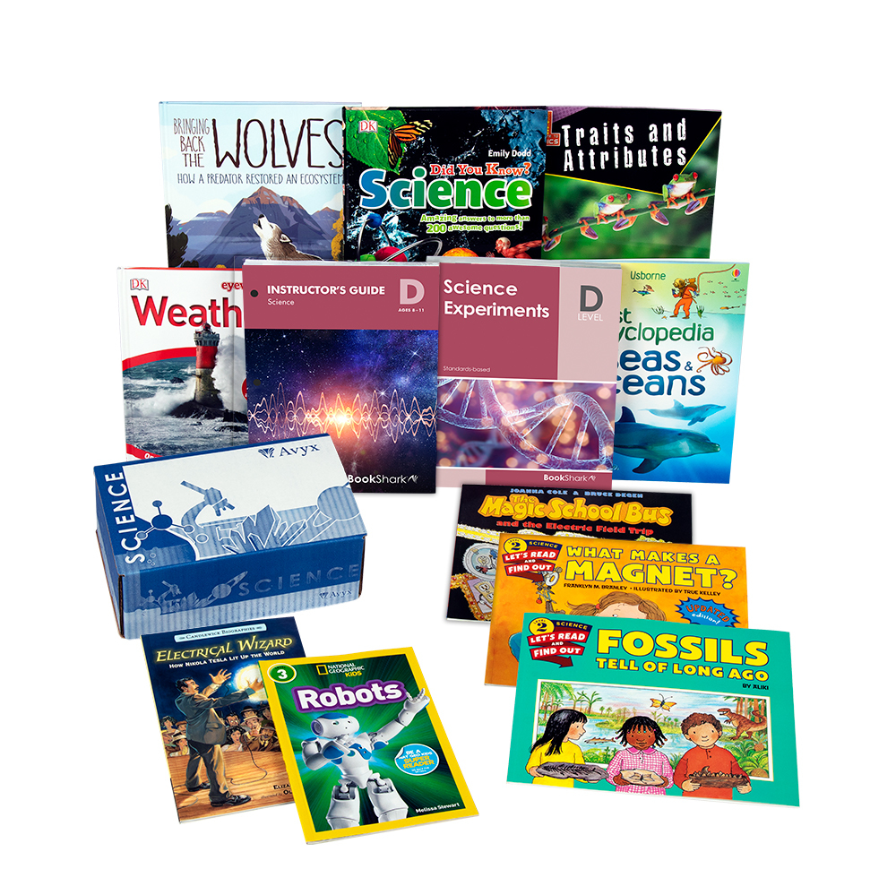 BookShark Science D ages 8-11