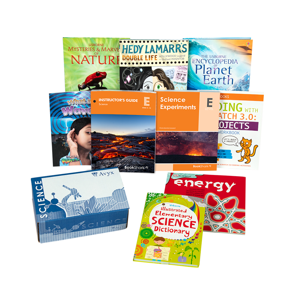 BookShark Science E ages 9-12